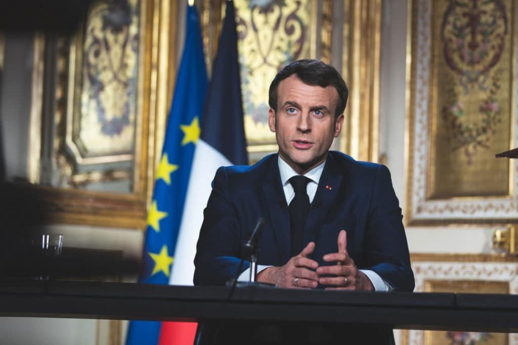Président Macron Allocution
