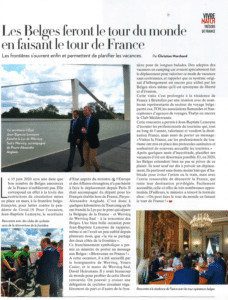Article Paris Match Belgique